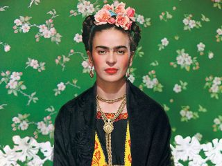 Frida Kahlo Wearing A Hat