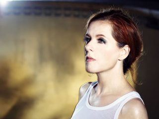 Neko Case Looking At The Camera