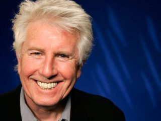 Graham Nash Smiling For The Camera