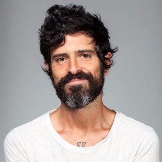 Devendra Banhart Looking At The Camera