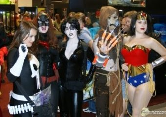 A Group Of People Wearing Costumes