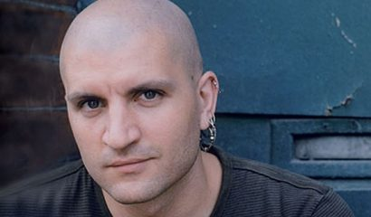 China Mieville Looking At The Camera