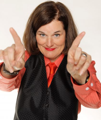 Paula Poundstone Posing For The Camera