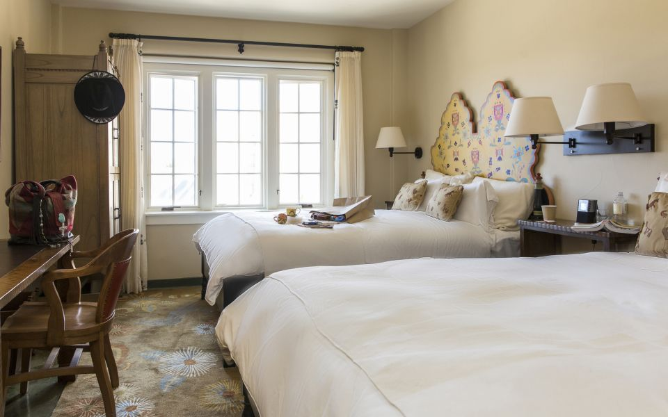 Traditional Room with Two Double Beds