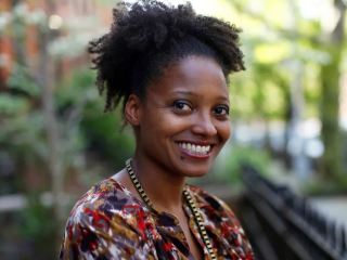 Tracy K. Smith Smiling For The Camera