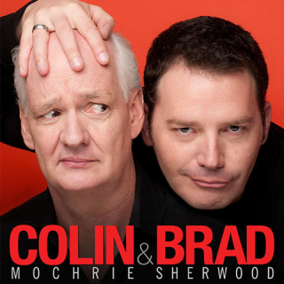 Colin Mochrie, Brad Sherwood Smiling For The Camera