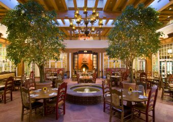 La Plazuela Restaurant offers authentic Santa Fe cuisine