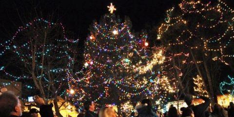 santa fe lighting of the holiday tree - Christmas In Santa Fe