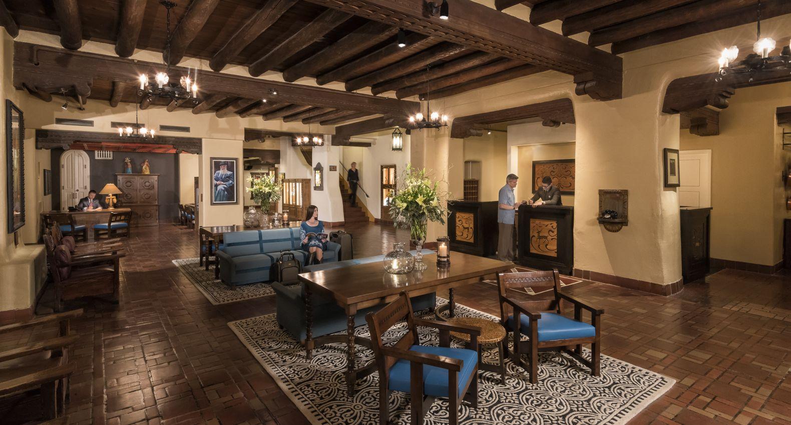 Santa Fe Hotel | Hotels in Santa Fe | La Fonda